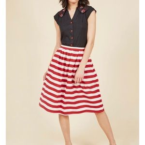 ModCloth Style For Miles Skirt NWT
